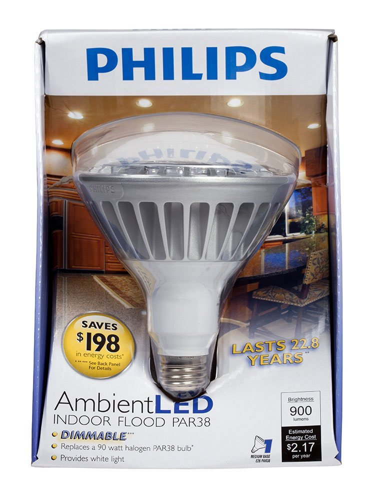The Philips PAR style lamps are nice performers, but are still not hitting the quality marks fully, so the price premium becomes a serious issue.