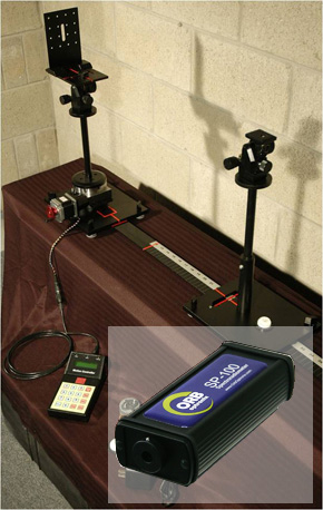 Orb SP100 and gonio setup